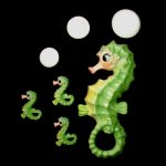 Sassy Seahorse Mom & Babies Wall Plaque