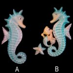 "Large 12"" Seahorse Wall Plaque - Pick 1 or Both"
