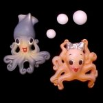 George Squid or Gracie Octopus Wall Plaque - Pick 1 or Both