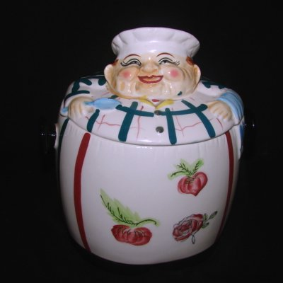 Vintage Chadwick Jolly Chef Cookie Jar [FO518] : Shopping, Vintage ...