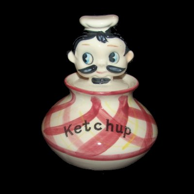 1950s Chef Ketchup Man Pixie Wannabe